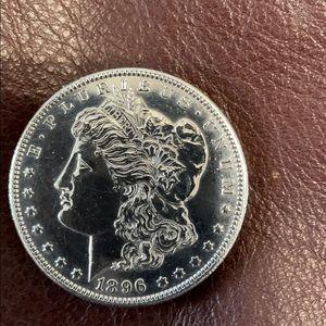 1896 MINT Morgan silver dollar 💵